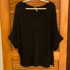 Free People Oversized knit sweater size S